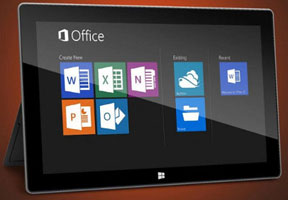 2014, Microsoft Office Mendarat di iOS dan Android