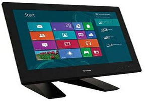 Monitor LCD ViewSonic TD2340 Bersertifikasi Windows 8