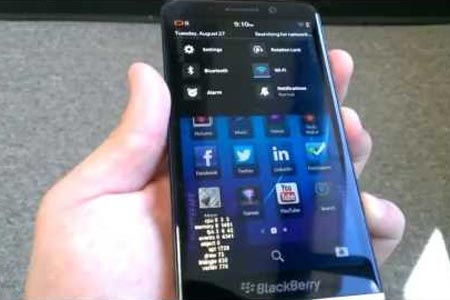 Penampakan ​Blackberry Z30 dalam Video